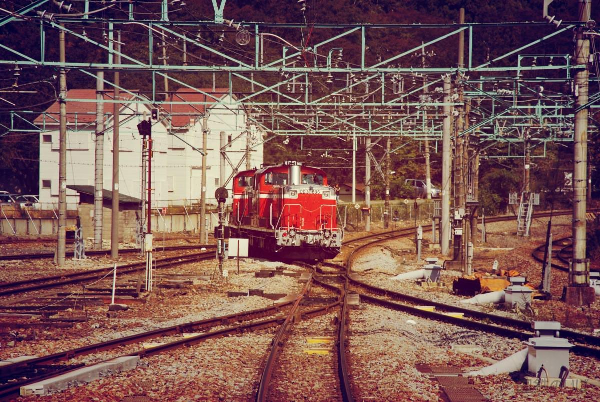 DD51は引込線へ。