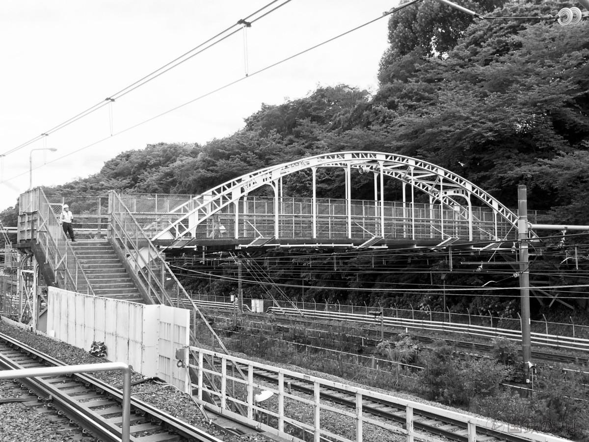 王子駅といえば忘れてはならないのが飛鳥山下跨線人道橋だ。