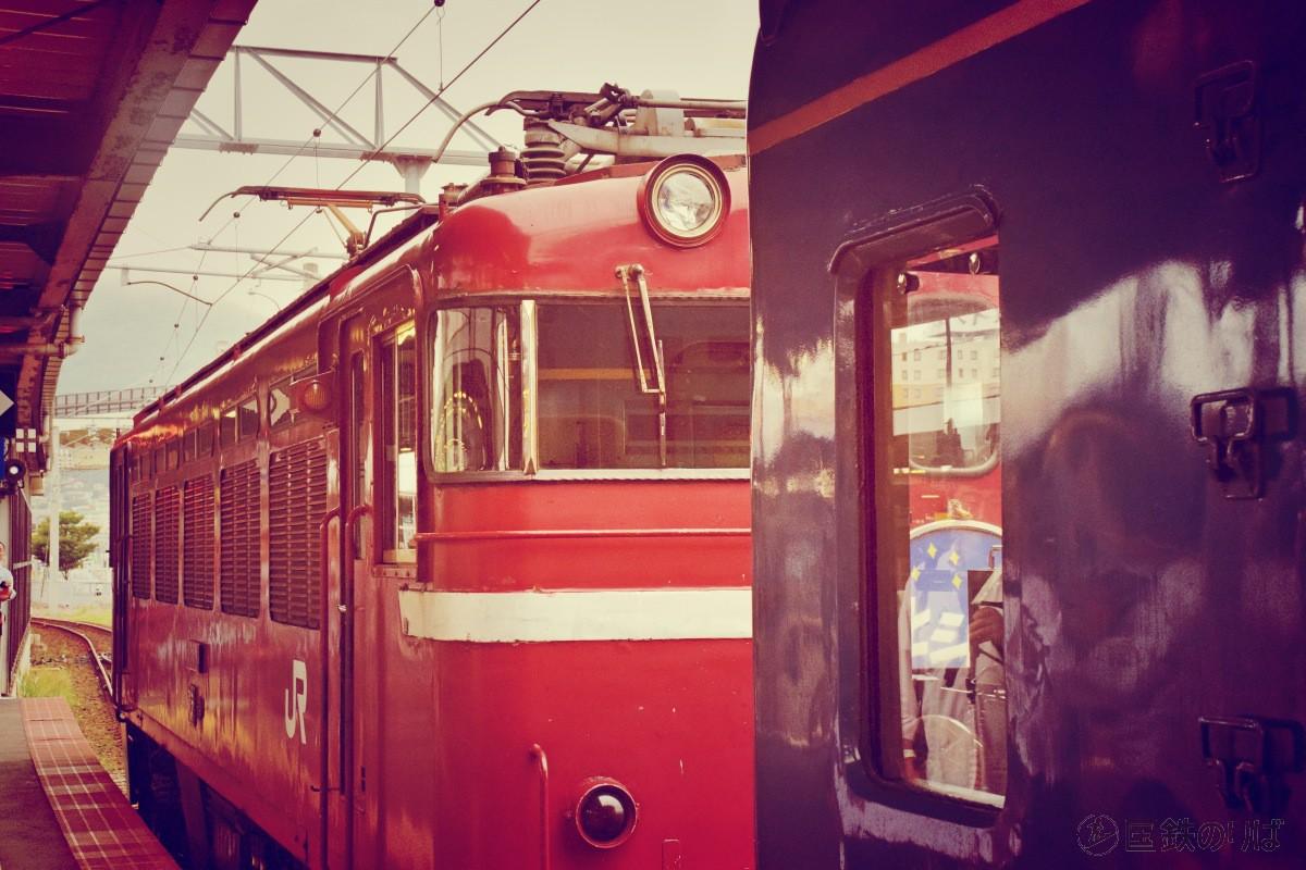 最後のブルートレイン、北斗星乗車記(3)函館駅とED79の巻