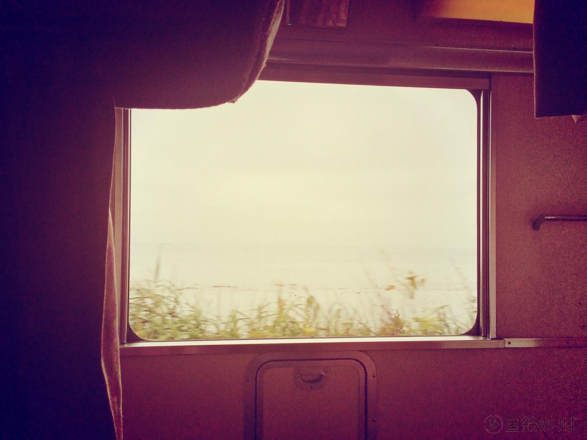 いよいよ北海道で北海道に上陸だ。天気はあいにくだ。