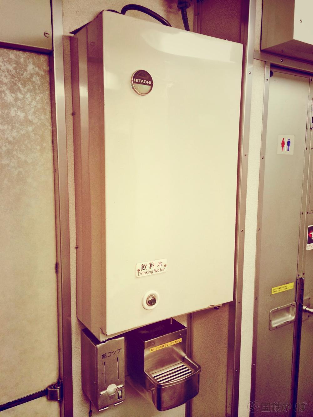 24系客車・冷水機