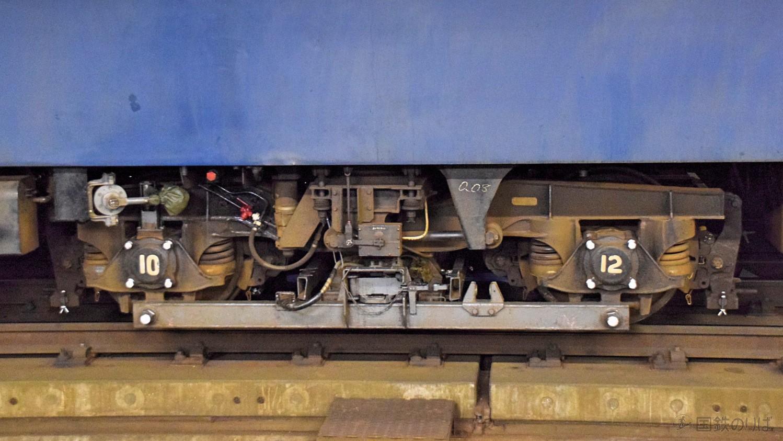 マヤ34-2008のTR-202A台車