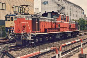 国鉄色DD51-1805、最後の里帰り。