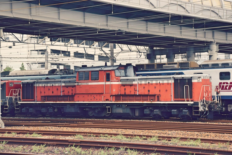 DD51-853(愛知機関区にて)