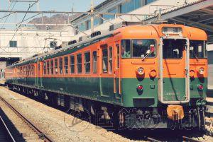 しなの鉄道169系急行形電車