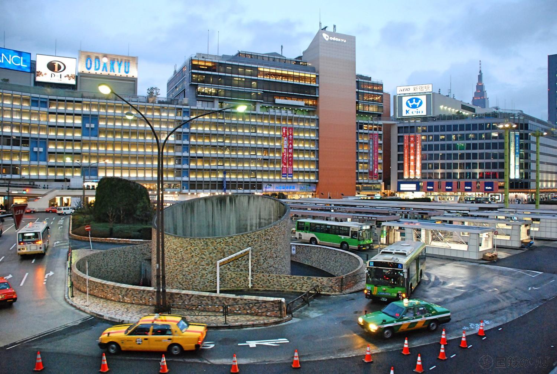 首都圏主要都市間表定速度ランキング2018年新宿ー多摩編